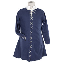 Laced kirtle in wool