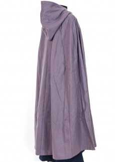 Cloak in purple wool