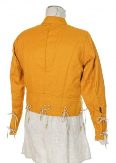 doublet in yellow wool